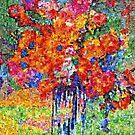 Flower Mosaic by Richard  Tuvey
