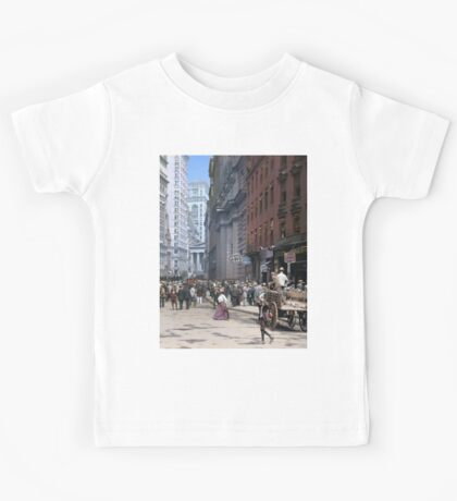 Curb Market in NYC, ca 1900 Kids Clothes