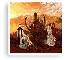 OT4: Citadel down Canvas Print