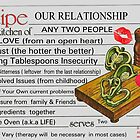 Recipe For Our Relationship by Kater