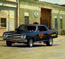 1965 Chevelle Gasser by TeeMack