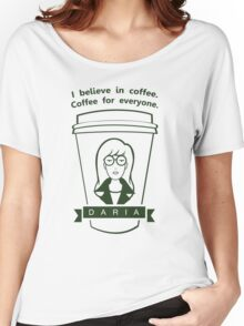 Coffee For Everyone. Women's Relaxed Fit T-Shirt