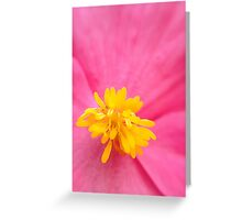 The Heart of the Flower Greeting Card