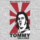 Tommy Hellfire MCW Melbourne Wrestler by Ajmdc