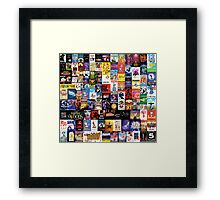 Musicals!!! (improved) Framed Print