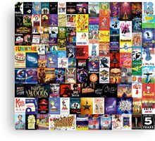 Musicals!!! (improved) Canvas Print