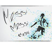 Lionel Messi Poster Photographic Print