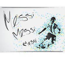 Lionel Messi Poster Photographic Print