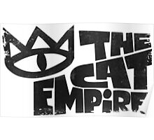 The Cat Empire band logo Poster