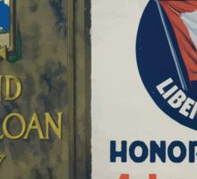 Second Liberty Loan of 1917Buy a bond Sticker