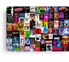 Musicals!!! Canvas Print