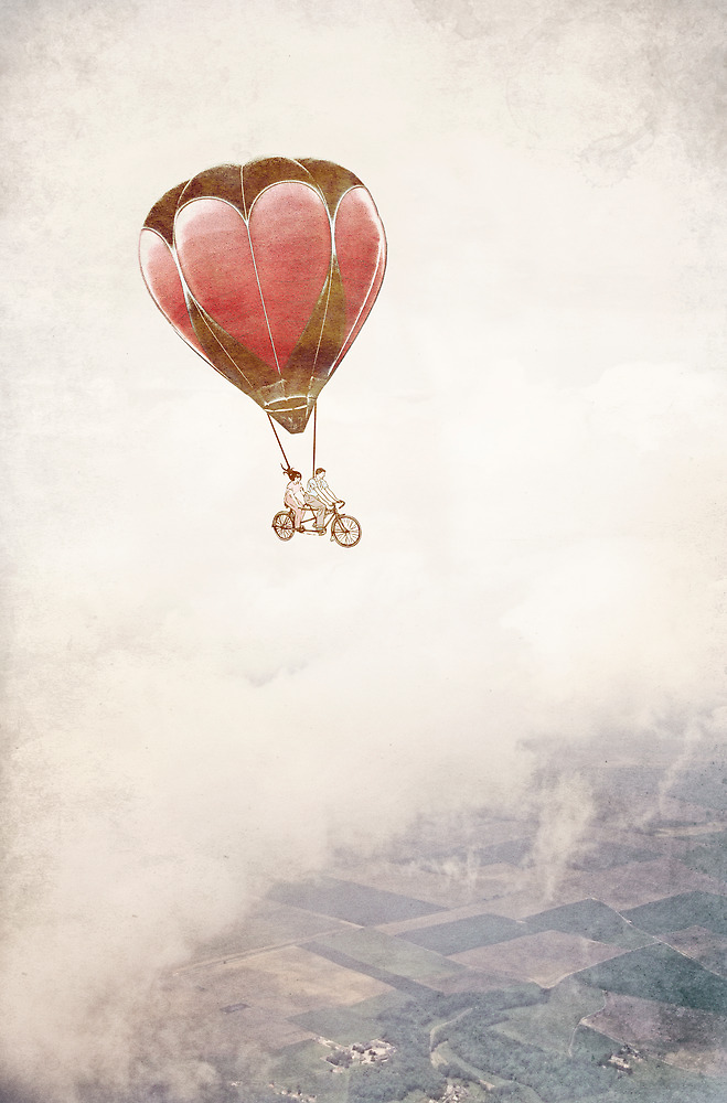 Just Married - Going Home by Paula Belle Flores