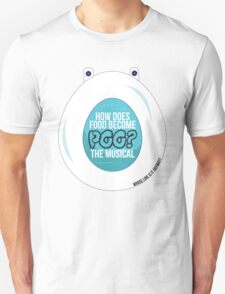 How does food  become poo? Unisex T-Shirt