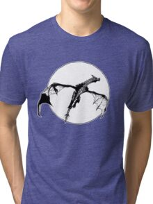 There Be Dragons Tri-blend T-Shirt
