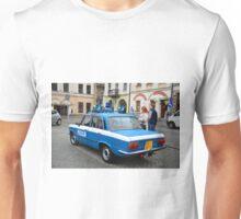 "Fiat 125p - ""MILICJA"" 4 Unisex T-Shirt"
