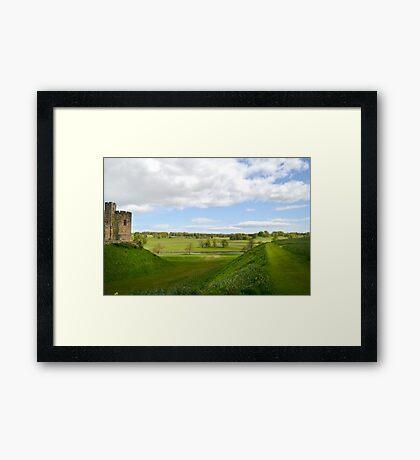 At Alnwick Castle Framed Print