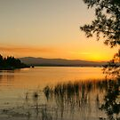 sunset at Theewaters by Anton Alberts