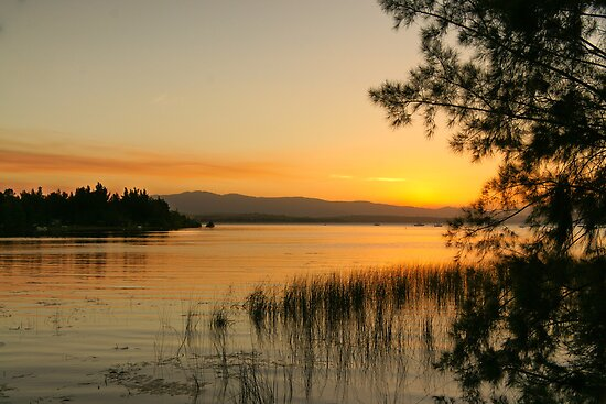 sunset at Theewaters by AntonAlberts