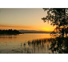 sunset at Theewaters Photographic Print