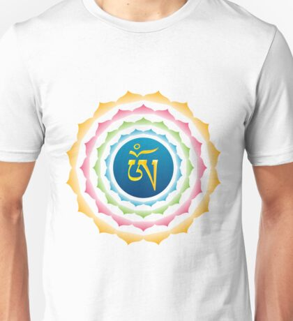 OM Tibetan Syllable Unisex T-Shirt