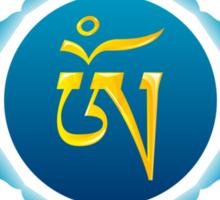 OM Tibetan Syllable Sticker
