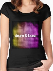 Drum & Bass (color harmonies)  Women's Fitted Scoop T-Shirt