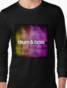 Drum & Bass (color harmonies)  Long Sleeve T-Shirt