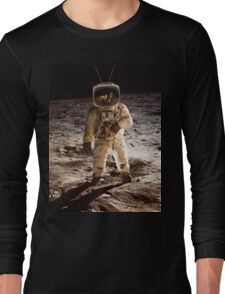 TV Astronaut moon walk Long Sleeve T-Shirt