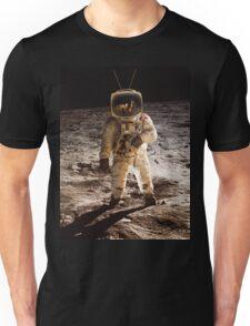 TV Astronaut moon walk Unisex T-Shirt