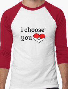 I Choose You Men's Baseball ¾ T-Shirt