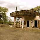 Old Yakima Gas Station by Randall Robinson