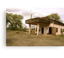 Old Yakima Gas Station Canvas Print