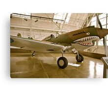Flying Tiger P40 Canvas Print