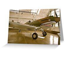 Flying Tiger P40 Greeting Card