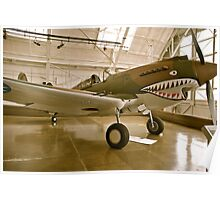 Flying Tiger P40 Poster