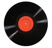 I Like Vinyl Photographic Print