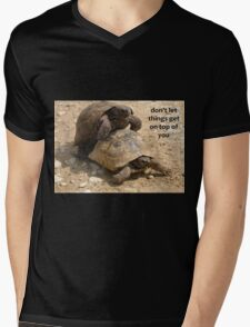 Don't Let things Get On Top of You  Mens V-Neck T-Shirt