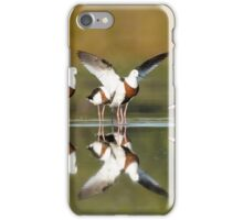 Banded stilts stretching iPhone Case/Skin
