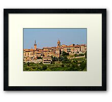 toscana in Italy Framed Print