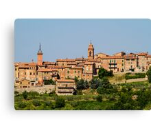 toscana in Italy Canvas Print