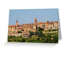 toscana in Italy Greeting Card