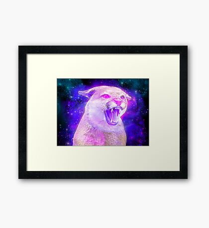 Interstellar anger  Framed Print