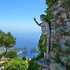 A view from the island of Capri Italy by RAN Yaari