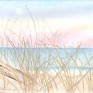 Reeds by the Ocean by elizabethtarde