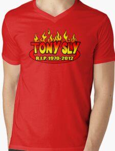 R.I.P. TONY SLY!! Mens V-Neck T-Shirt