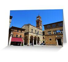PIENZA - TOSCANA - ITALY Greeting Card