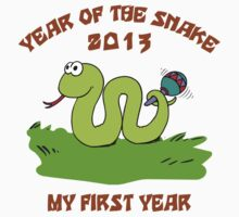Born in The Year of The Snake 2013 T-Shirt Kids Tee
