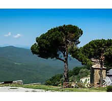 A view from Montepulzino - Toscana Photographic Print