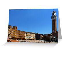 Siena-Toscana-Italy Greeting Card
