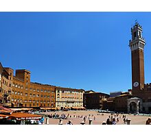 Siena-Toscana-Italy Photographic Print
